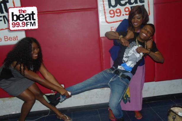Gbemi and Toolz fight over Wizkid