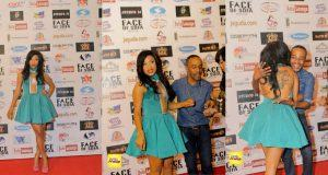 Tonto Dikeh's outfit to The Face of Sofa