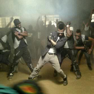psquare alingo video shoot naijavibe