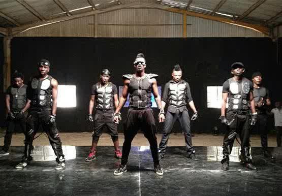 psquare alingo video shoot