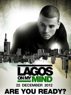 Chris Brown Coming To Nigeria