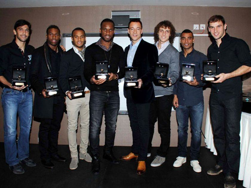 Drogba Gives $800,000 Worth Of Diamond Rings To Former Chelsea Team Mates
