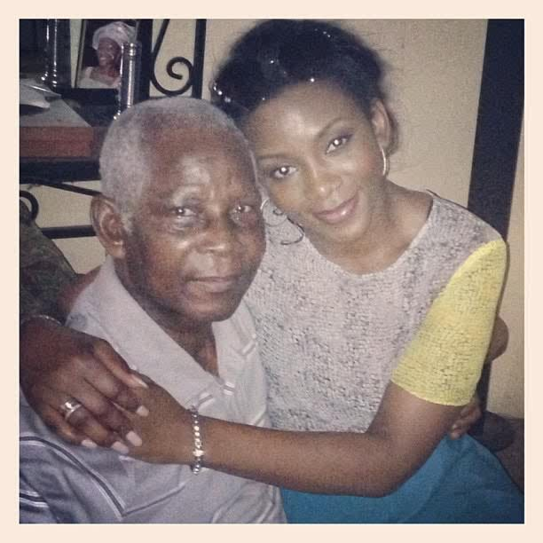Genevieve and Dad