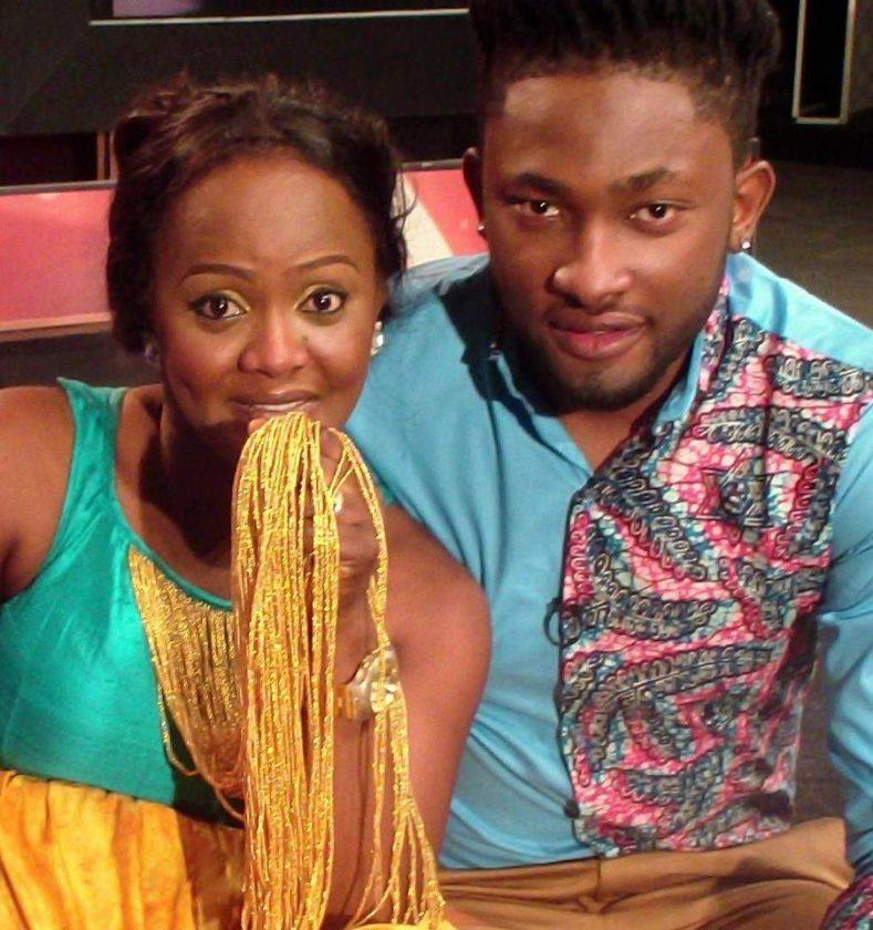 Helen Paul and Uti Nwachukwu