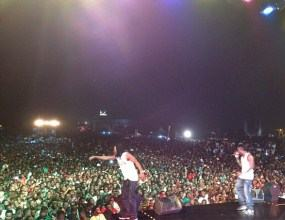 PSquare concert in Ghana
