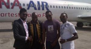 Basketmouth, DIPP, Harrysong, others fly Dana Air as airline resumes operations