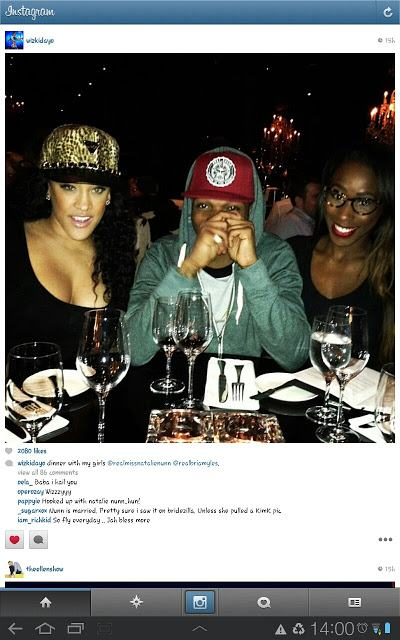 Dinner with my girls - wizkid