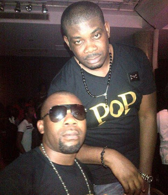 Don Jazzy and James