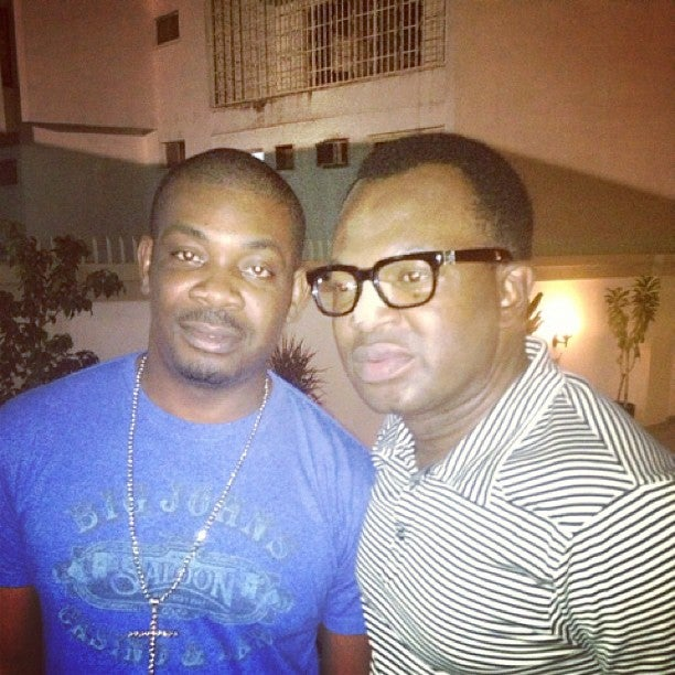 Don Jazzy and Princewill Ojukwu make peace