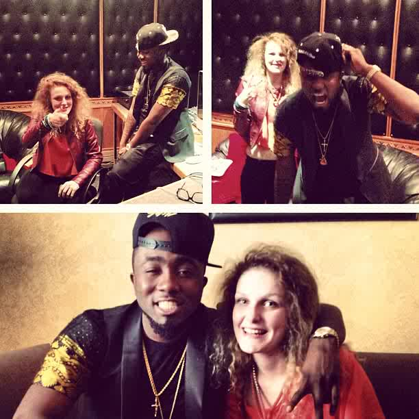 Ice Prince and 17 year old singer Holly