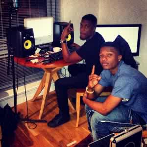 WizKid and Maleek Berry In The Studio