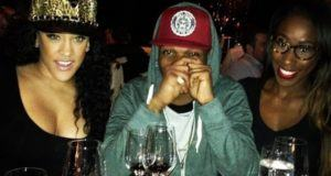 Wizkid Spotted With Vixens Nunn and Myles