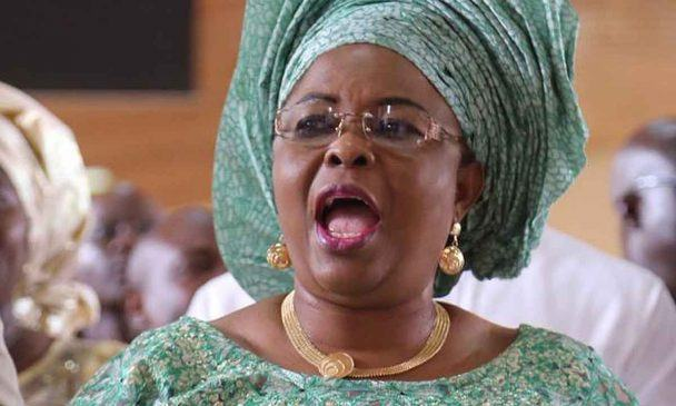 100 opposition parties cannot defeat PDP - Patience Jonathan