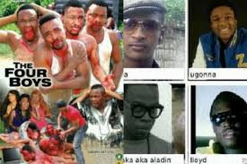 Aluu 4 inspired movie - The Four Boys