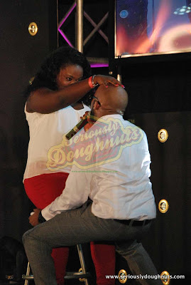 Banky W's dutty wine on stage