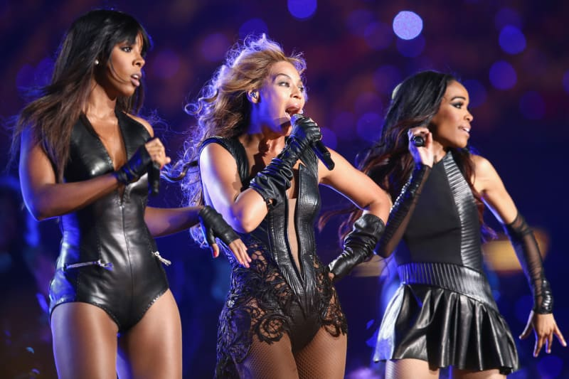 Beyonce rocks the Super Bowl