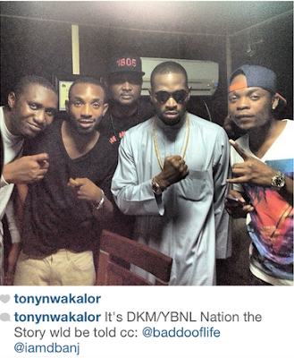 D'Banj Collaborates with Olamide for DKM Album