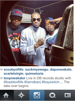 D'Banj Collaborates with Olamide
