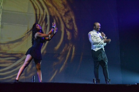 Darey performing at LLAM concert 1