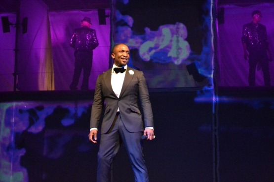 Darey performing at LLAM concert NaijaVibe