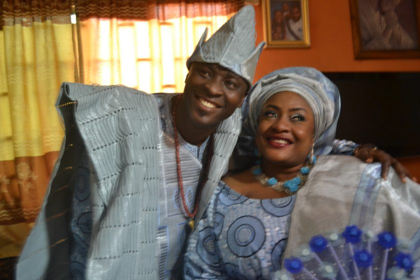 Foluke Daramola marries Kayode Salako