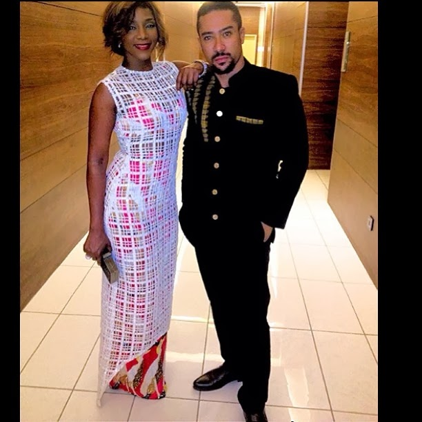 Genevieve Nnaji and Majid Michel