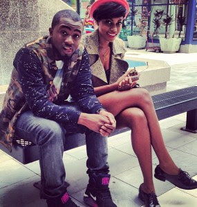 Ice Prince and Yvonne