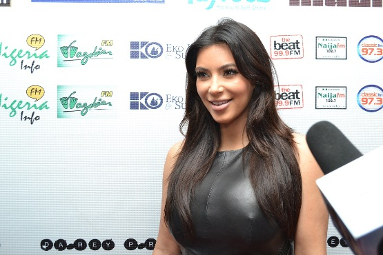 KIM KARDASHIAN ON THE LLAM REDCARPET