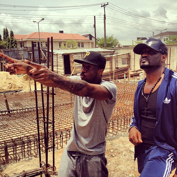 Psquare builds mansion in Parkview estate, Ikoyi
