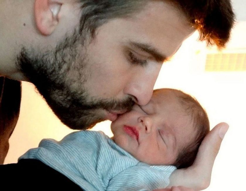 Shakira Shares First Photo Of Baby Milan