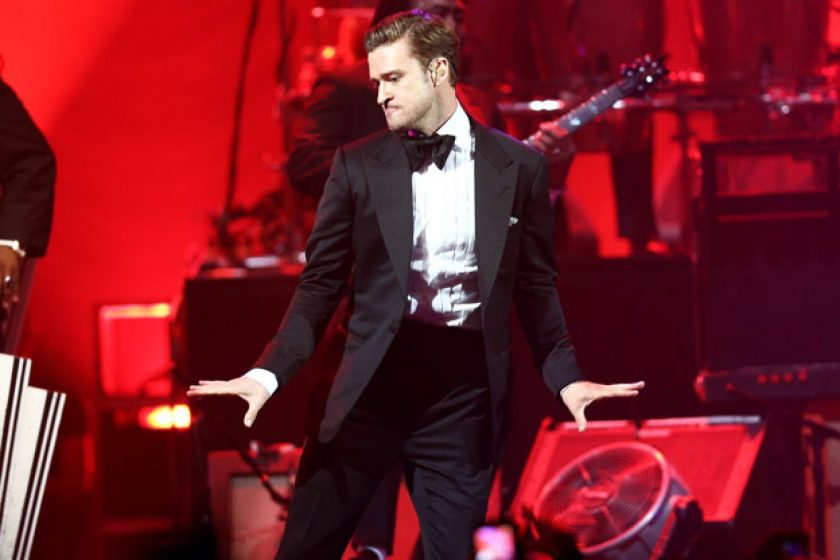 Timberlake Makes Concert Comeback