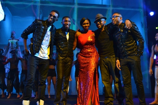Tolu, Timi Dakolo, Waje, Banky W and Praiz at LLAM concert