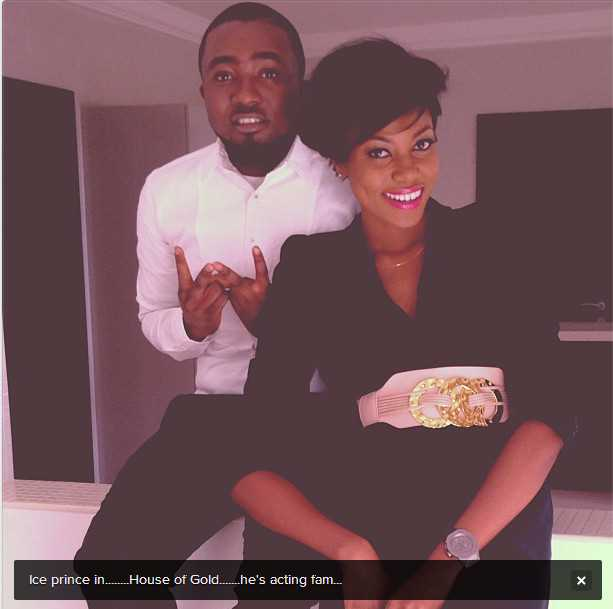 Yvonne Nelson and Ice Prince
