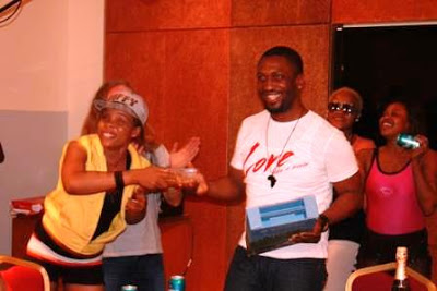 kaffy - Darey's Surprise Birthday Party at Eko Hotel and Suites
