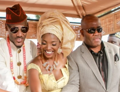 Akpabio, 2baba and Annie