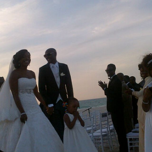 Congrats to Mr & Mrs Idibia
