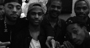 D'Banj parties with Wiz Khalifa and Big Sean