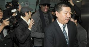 Dennis Rodman visit North Korea