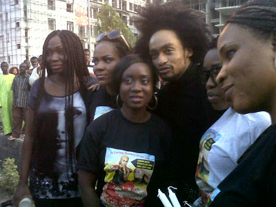 Denrele at Goldie's Candlelight Procession