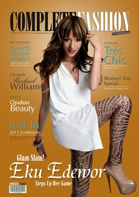 Eku Edewor cover Complete Fashion