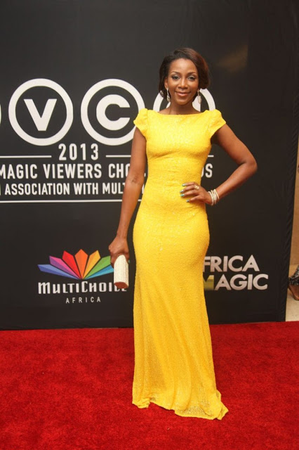 Genevieve Nnaji at AMVCA