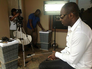 Jim Iyke Starts The Shoot for Reality Show 'Unscripted'
