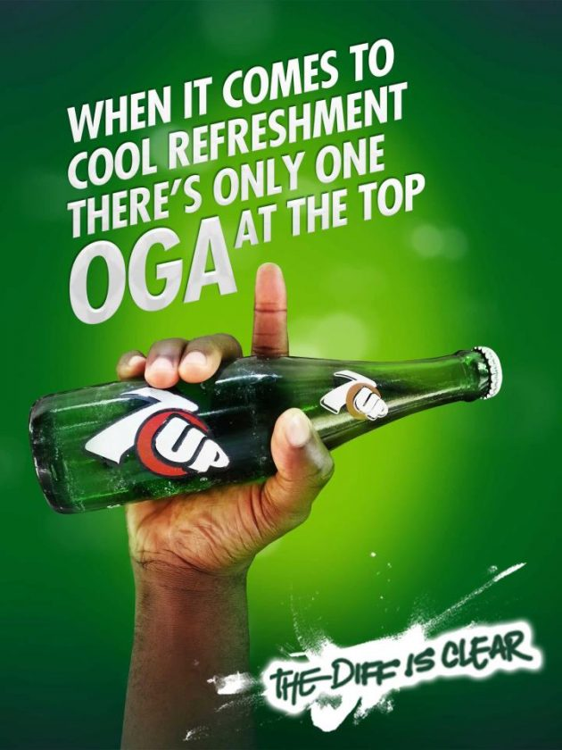 My Oga At The Top 7Up advert