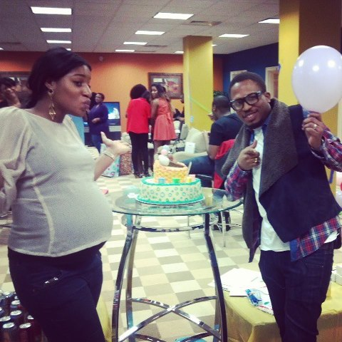 Naeto C & Nicole baby shower in the US