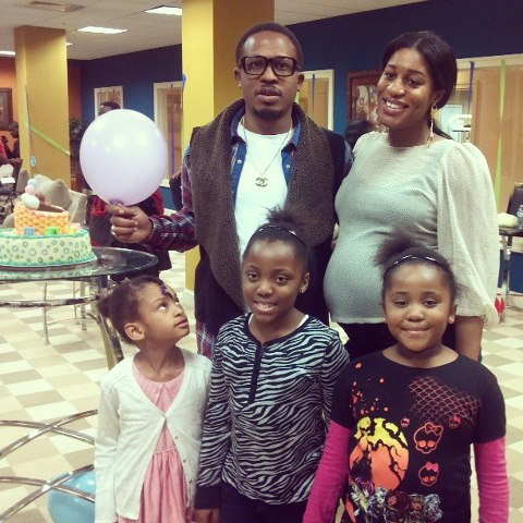 Naeto C and Nicole baby shower in the US
