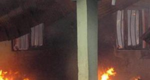 Ogun State Governor's House Gutted by Fire