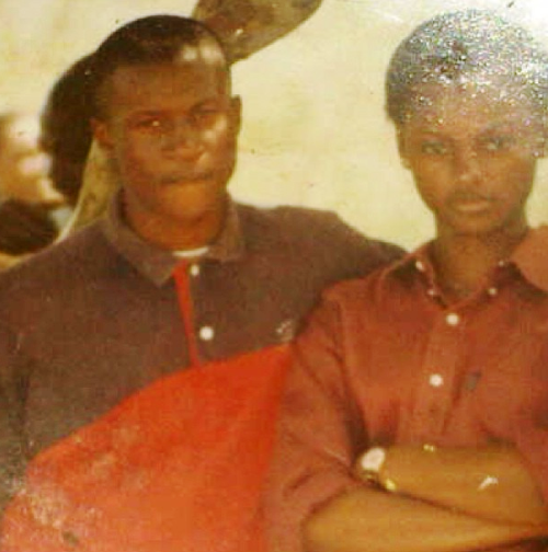 Peter Okoye and His Ex-Girlfriend in 1997