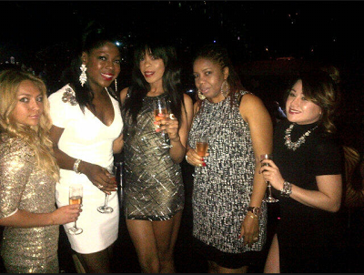Susan Peters and friends in Dubai