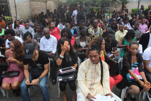 Thousands flock in for Big brother auditions in Lagos