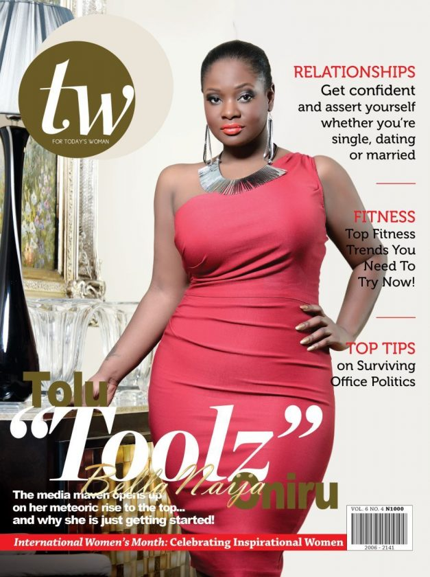 Toolz looking stunning on the Cover Of TW Magazine